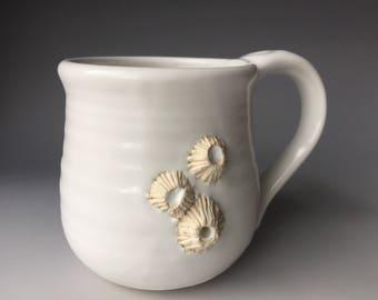 White Barnacle Mug