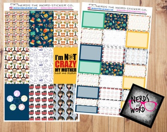 Big Bang Inspired Planner Kit for Erin Condren & Happy Planner ALL SIZES
