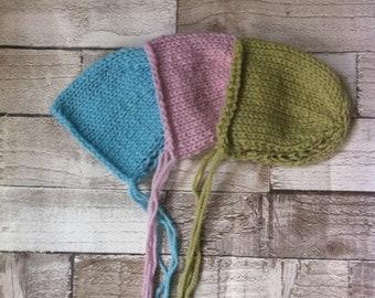 Classic knit Newborn Bonnet -  - Newborn props - newborn photography props