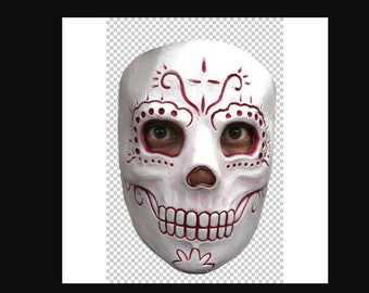 Ladies Mexican Day of the Dead Halloween Corpse Bride - Madame Catrina mask