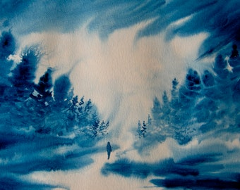 Nature's My Devotional WATERCOLOR PAINTING