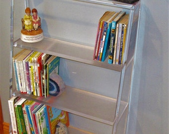 "New Acrylic bookcase. 3/4"" Thick  Lucite"