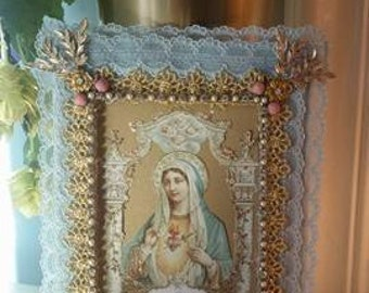 Virgin Mary Religious Icon