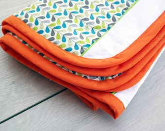 Quilted cotton baby blanket