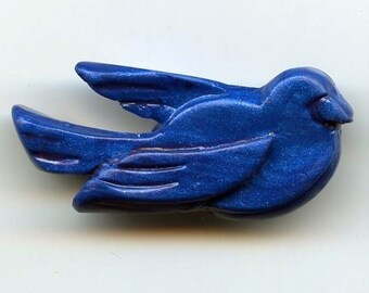 Blue Bird Pin