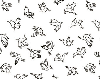 Two Colorable Prints / Birds and Fruits