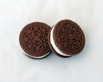Chocolate sandwich cookies, wax tarts, cookie melters, chocolate cookies, flameless candle, soy candles, tart melts, soy tarts, soy melters