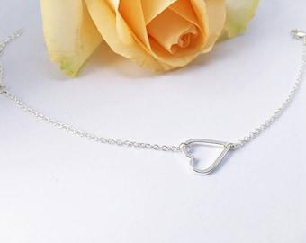5 x silver plated arm chain: Friendship Bracelet