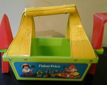 Vintage Fisher Price 1981 gardening kit