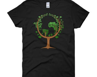 Women's Happy Earth Day T shirt Gift--Save The Earth Shirt--Go Green Shirt -- Earth Day April 22 T-shirt