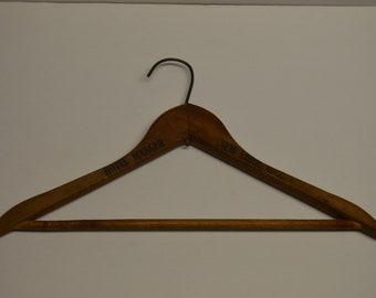 Vintage Wooden Hanger New York