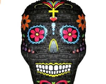 Sugar Skull Dia de los Muertos Day of the Dead Piñata