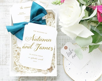 INSTANT Download Wedding Program Template  | Romantic Script | Printable | 5x7 Double Sided | Editable Colors | Mac or PC | Word & Pages