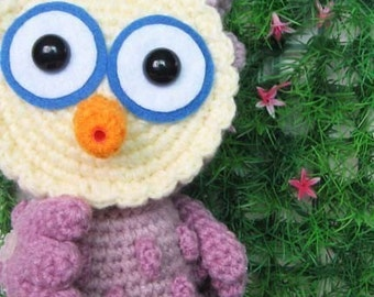 OTUS the owl 7 inches - PDF crochet pattern