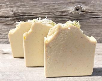 Coconut Lime Verbena-Handmade Artisan Goats Milk Soap-Cold Process Soap