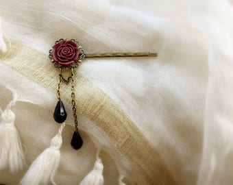 Bohemian flower wedding/baptism/party/ceremony Bobby pin hair clip