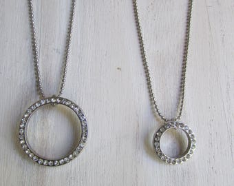 """MOM & daughter"" Duo necklace"