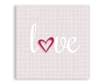 Love | Wall Art | Love Poster