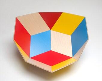 Tegl Bowl Mondrian
