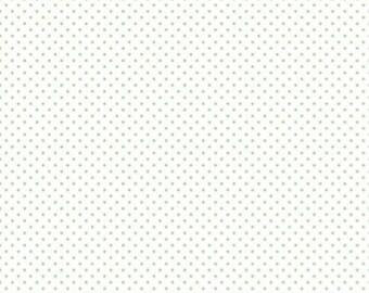 1 Yard- GREEN Swiss Dot by Riley Blake Designs- 660