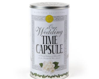 Wedding Time Capsule Keepsake, Bridal Shower Gift for Bride and Groom, Unique for Preserving Memories, Organize & Reminisce