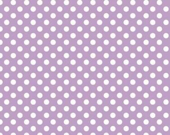 Riley Blake Designs, Small Dots in Lavender (C350 120)