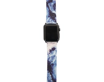 Geode Marble Vegan Leather Apple Watch Band 42mm