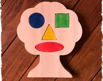Mister tree - wooden toy learning shapes