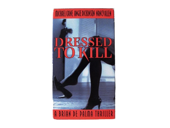 Dressed to Kill VHS