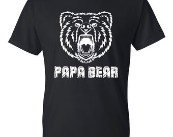 Papa Bear Father's Day Gift T-Shirt