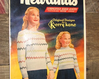 Newland's Simplified Hand Knits volume 7 Book 12