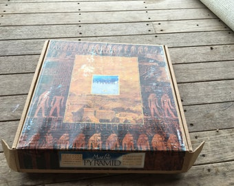 Vintage Authentic Models Marble Pyramid Anker Anchor Blocks