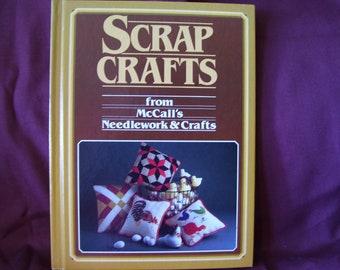 Vintage McCalls Scrap Craft Needwork and Craft Book circa 1984