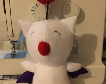 Cat Moogle Final Fantasy / KH plush, Made to Order!