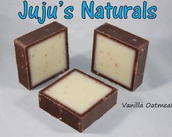 Vanilla Oatmeal - Handmade Soap