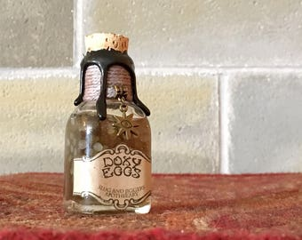 Doxy Eggs, a Harry Potter Themed Potion Ingredient Bottle