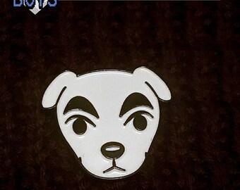 KK Slider Enamel Lapel Pin - Animal Crossing