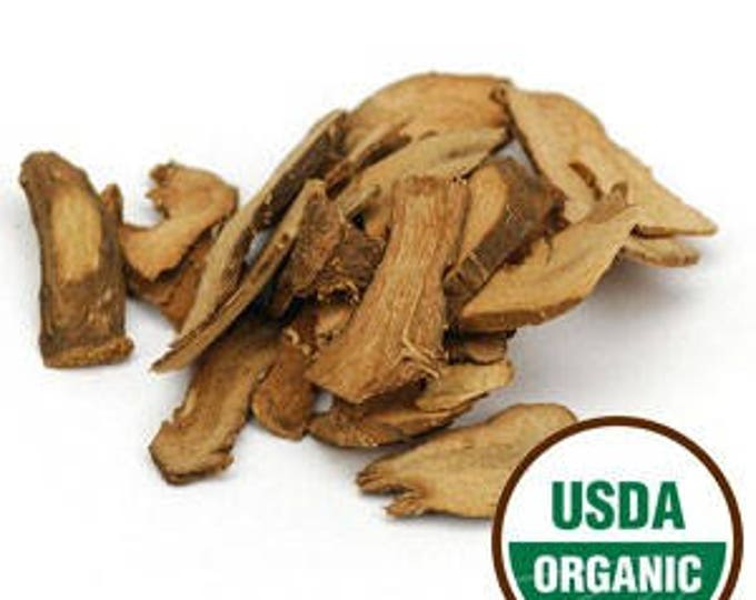 Lesser Galangal Root Slices - Certified Organic