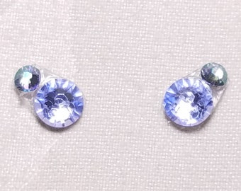 Pale Blue & Crystal Paradise Shine Eye Candies ATS Tribal Fusion Bindi - 00107