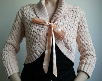 SALE! Adorable Pink Cardigan