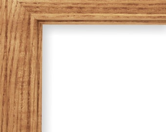 Picture Frame, Photo Frame, Solid Oak Frame, 9 x 12, Frames with glass