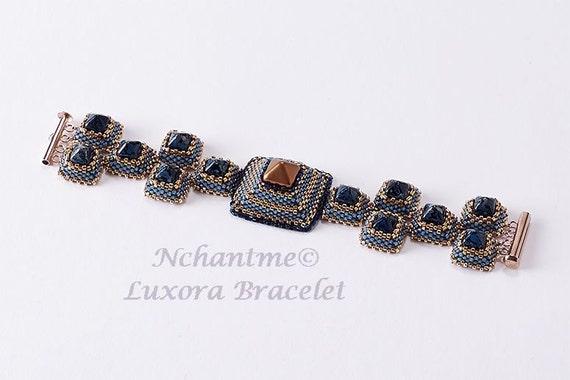 Luxora Bracelet Tutorial Instant Download