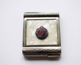 Powder Compact, World War II Collectable Military Powder Compact