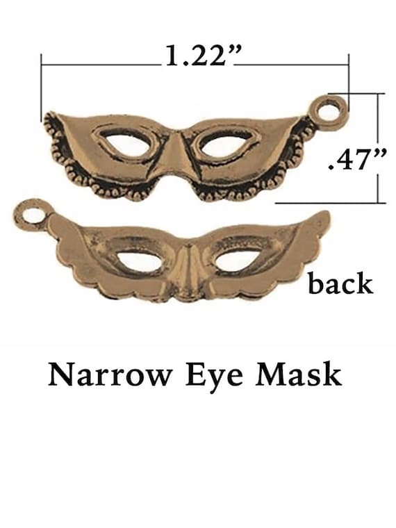 Masquerade Charms, Bronze Finish, FREE SHIPPING*