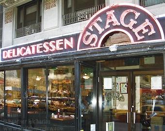 New York Photography - Stage Deli Restaurant - NY - Wall Decor - United States US Iconic Fine Art Print