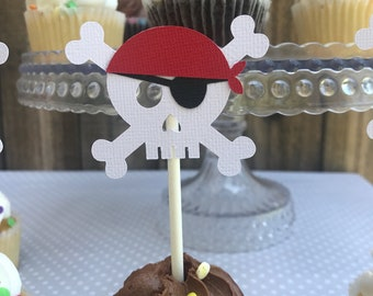 Pirate CupcakeToppers