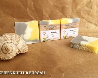 """Herbal soap """"rosemary""""-palm oil Free"""