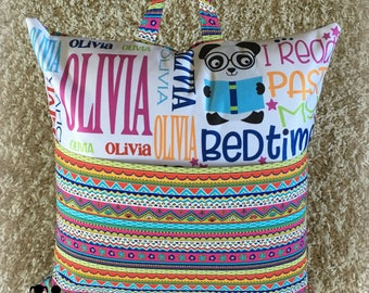 Personalized Pocket Pillow - MADE TO ORDER