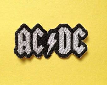 AC/DC Iron-on Patch