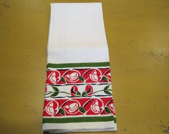 Vintage Linen Kitchen Towel